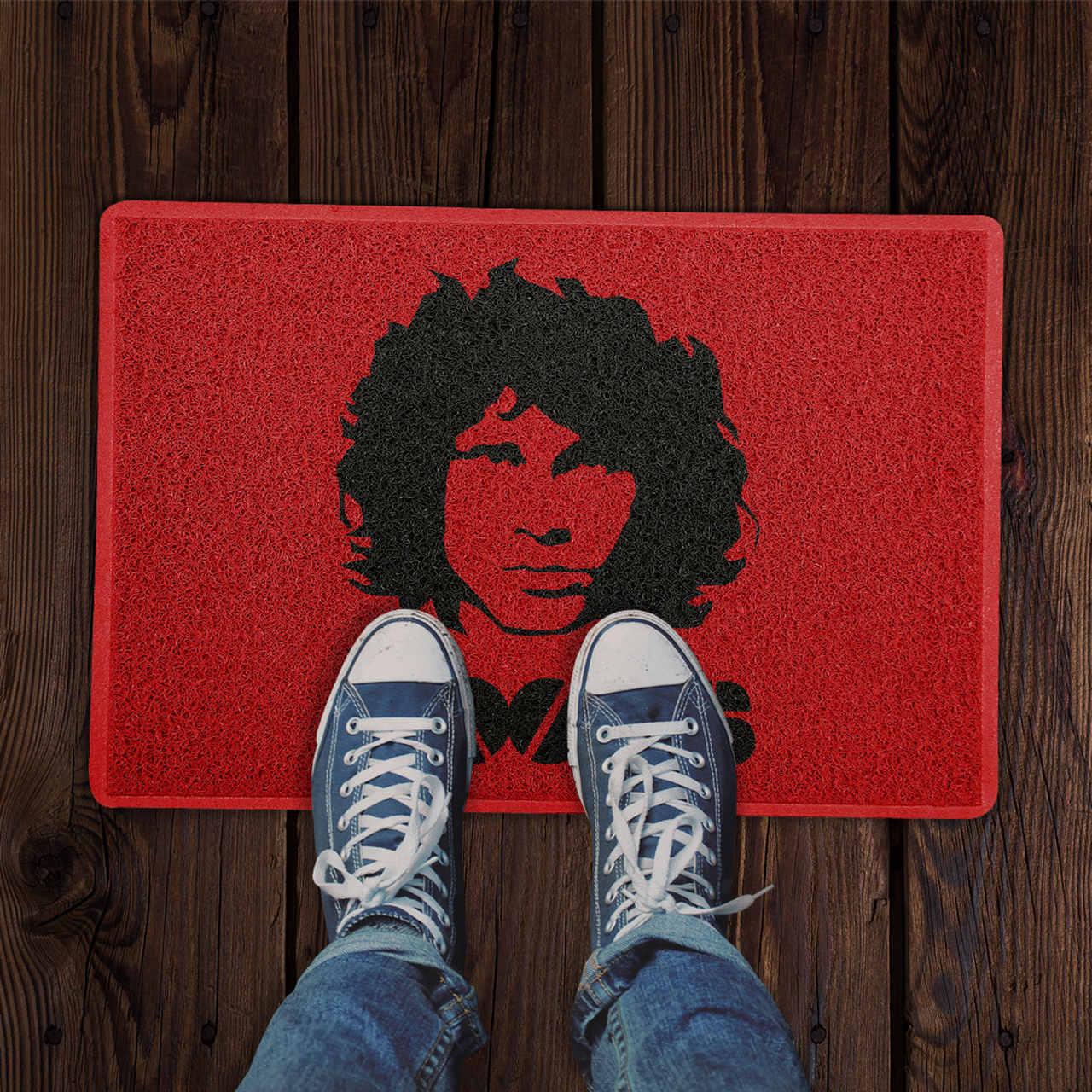 Capacho The Doors Jim Morrison PRESENTE E DECORAÇÃO GEEK