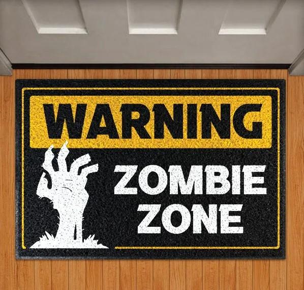Capacho Warning Zombie Zone - EV