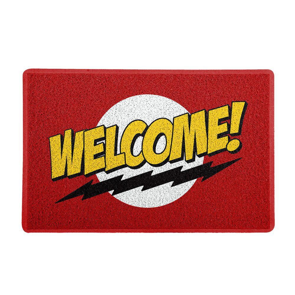"Capacho ""Welcome!"": The Big Bang Theory"