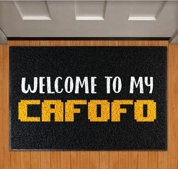 Capacho Welcome To My Cafofo - EV