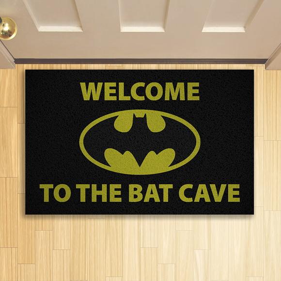 Capacho: '' Welcome To The Bat Cave '' (Batman) - EV