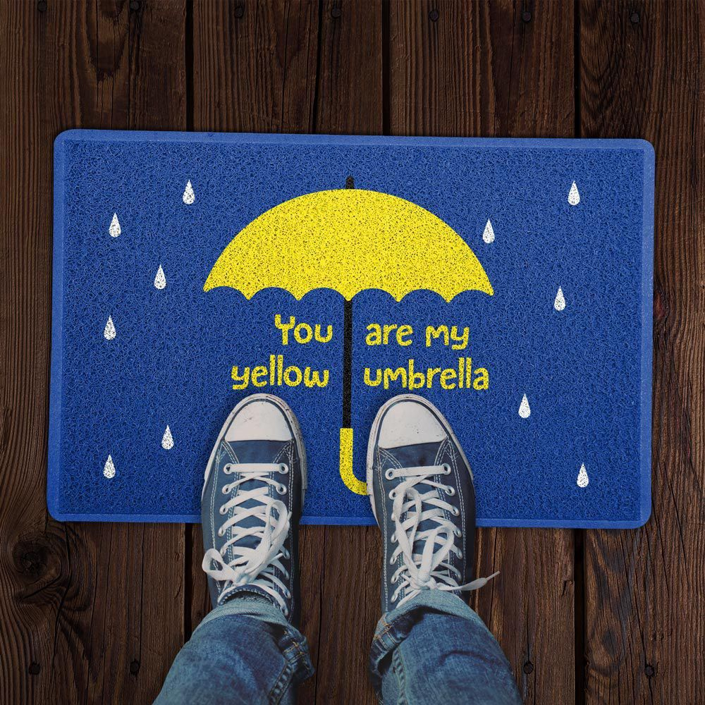 """Capacho """"You Are My Yellow Umbrella"""": How I Met Your Mother"""