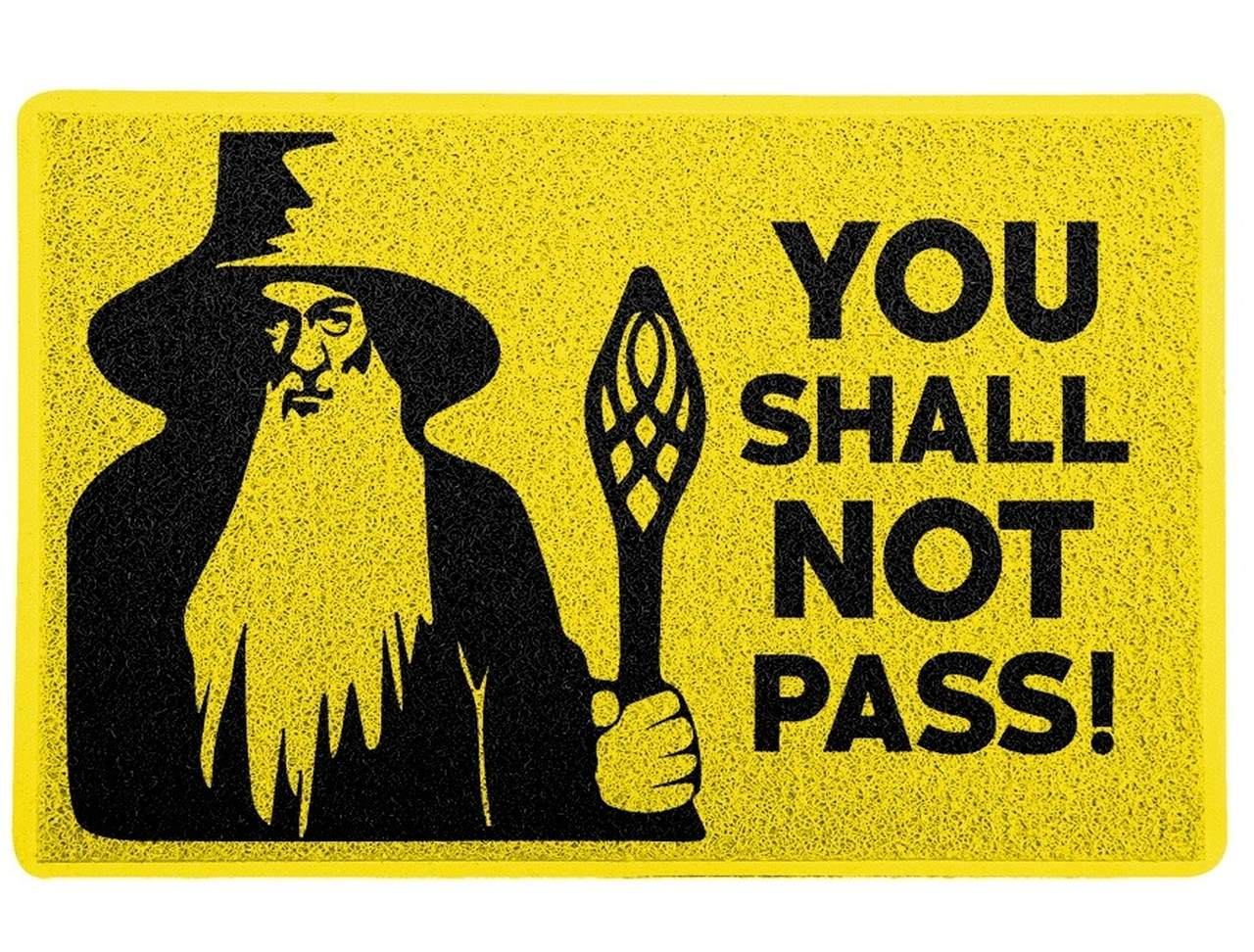 "Capacho ""You Shall Not Pass "": Senhor Dos Anéis (The Lord of the Rings)"