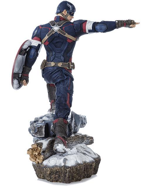 Estátua Capitão América: Age of Ultron 1/4 Legacy Replica - Iron Studios