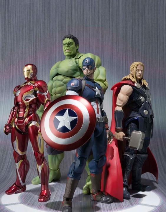 Capitão América Age Of Ultron S.H. Figuarts - Bandai