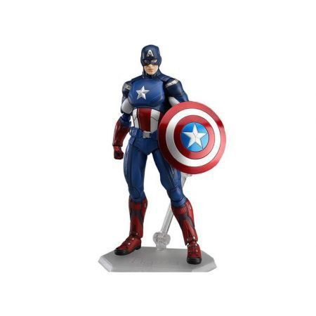 Capitão América Figma - Max Factory