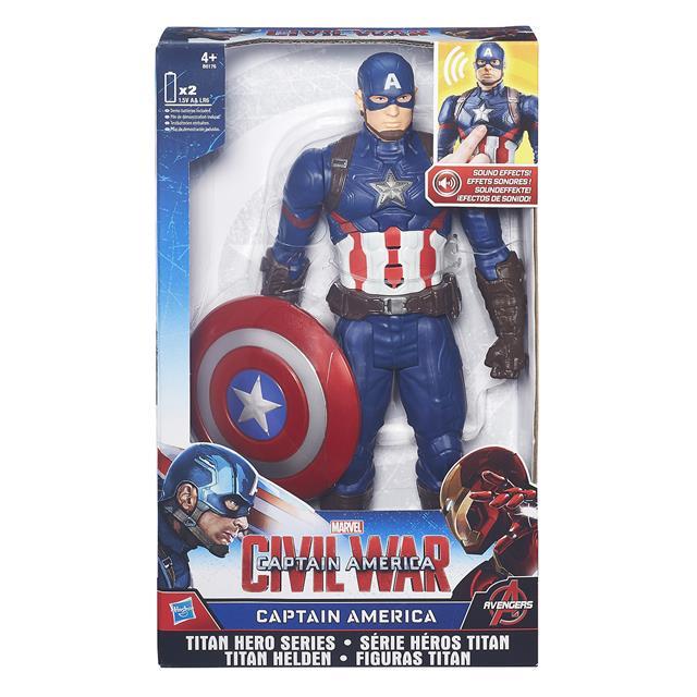 Capitão América Guerra Civil Eletrônico - Hasbro
