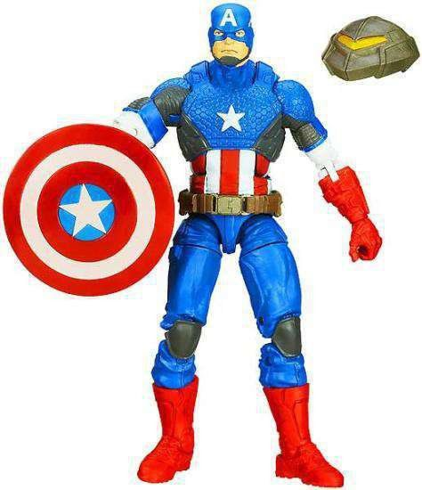 Capitão América Marvel Legends: Capitão América Marvel Now - Mandroid Baf