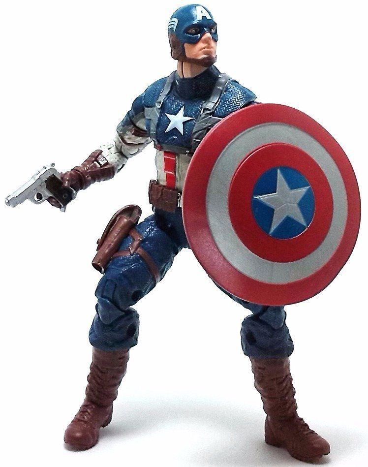 Capitão América Marvel Legends: Capitão America Movie - Mandroid Baf