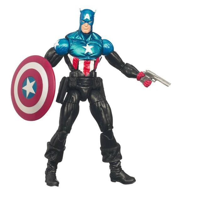 Boneco Capitão América: Marvel Select - Diamond Select