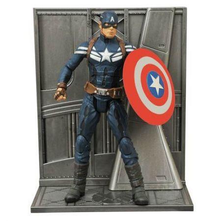 Capitão América: The Winter Soldier Marvel Select - Diamond