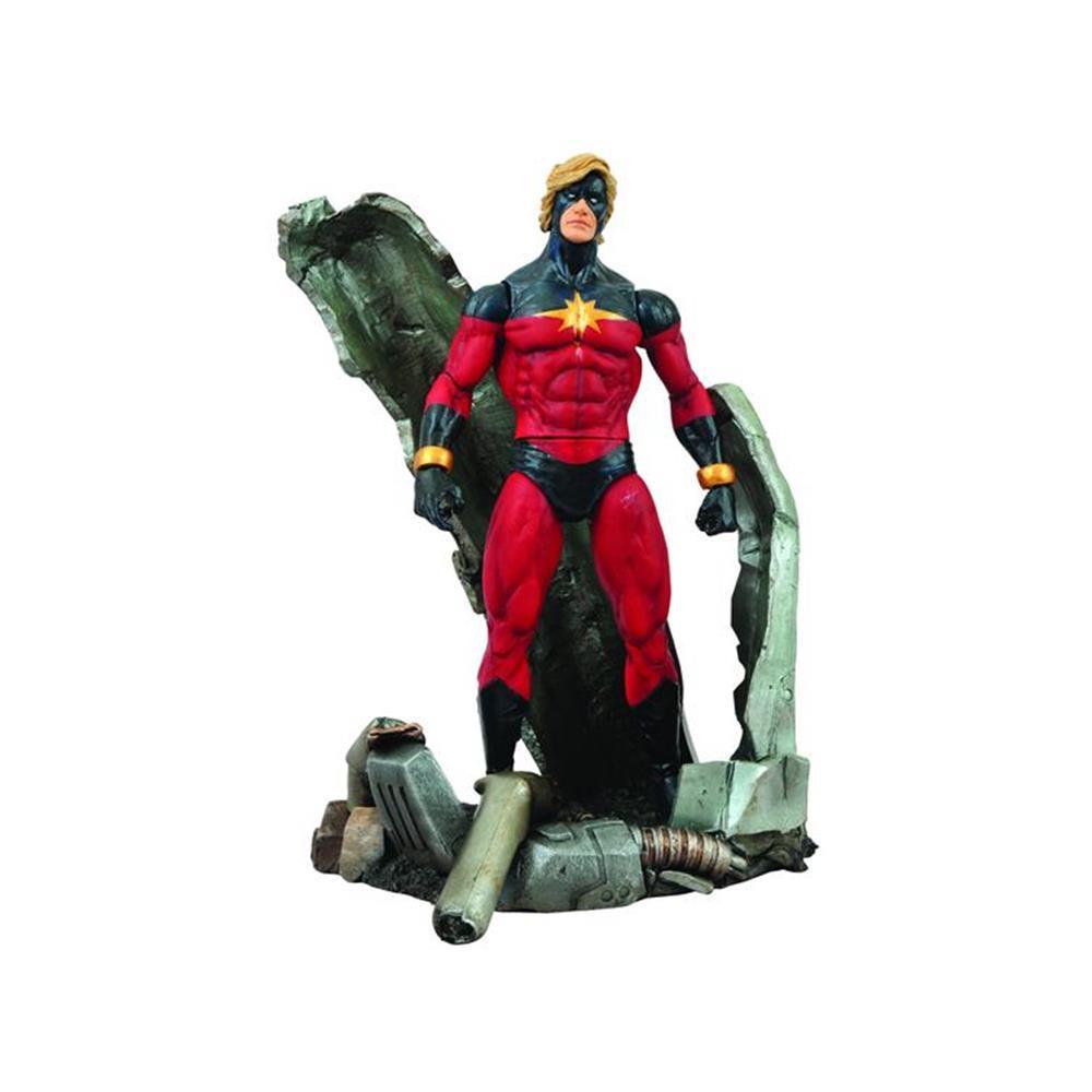 Boneco Capitão Marvel: Marvel Select - Diamond Select
