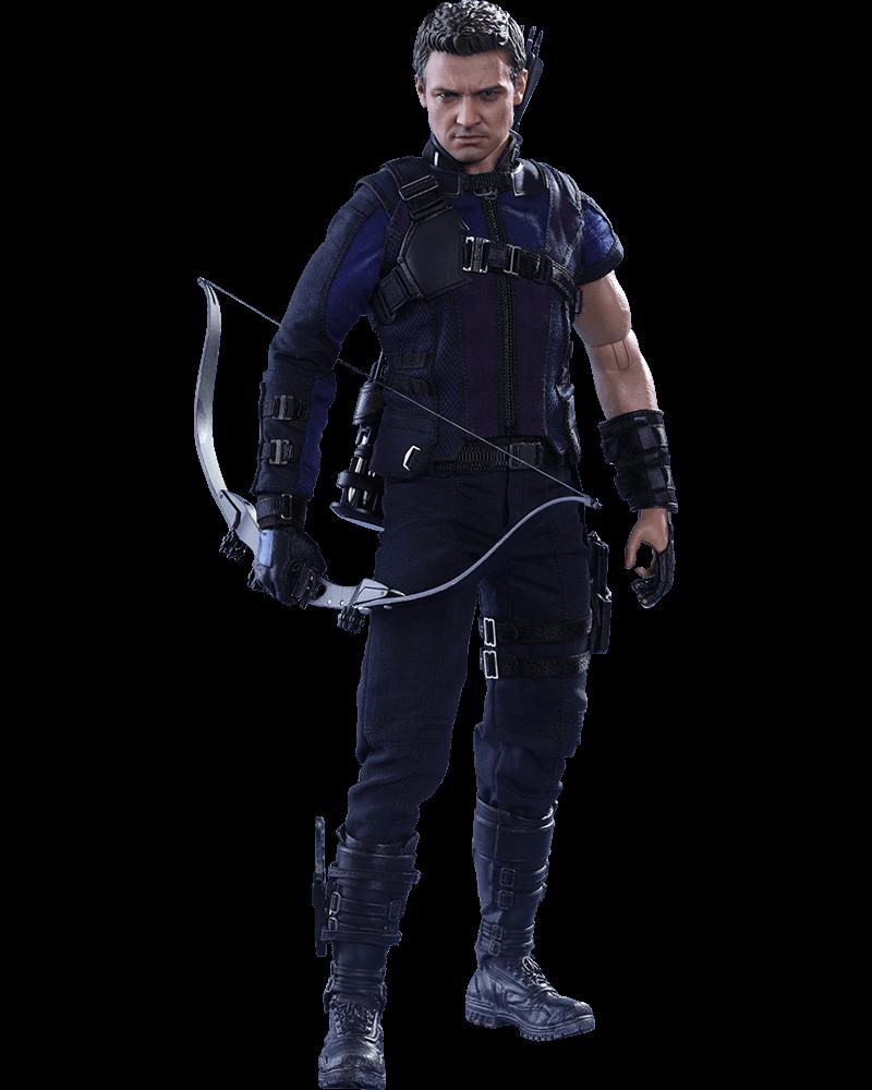 Action Figure Gavião Arqueiro (Hawkeye): Capitão América: Guerra Civil (Captain America: Civil War) Escala 1/6 - Hot Toys - CDL