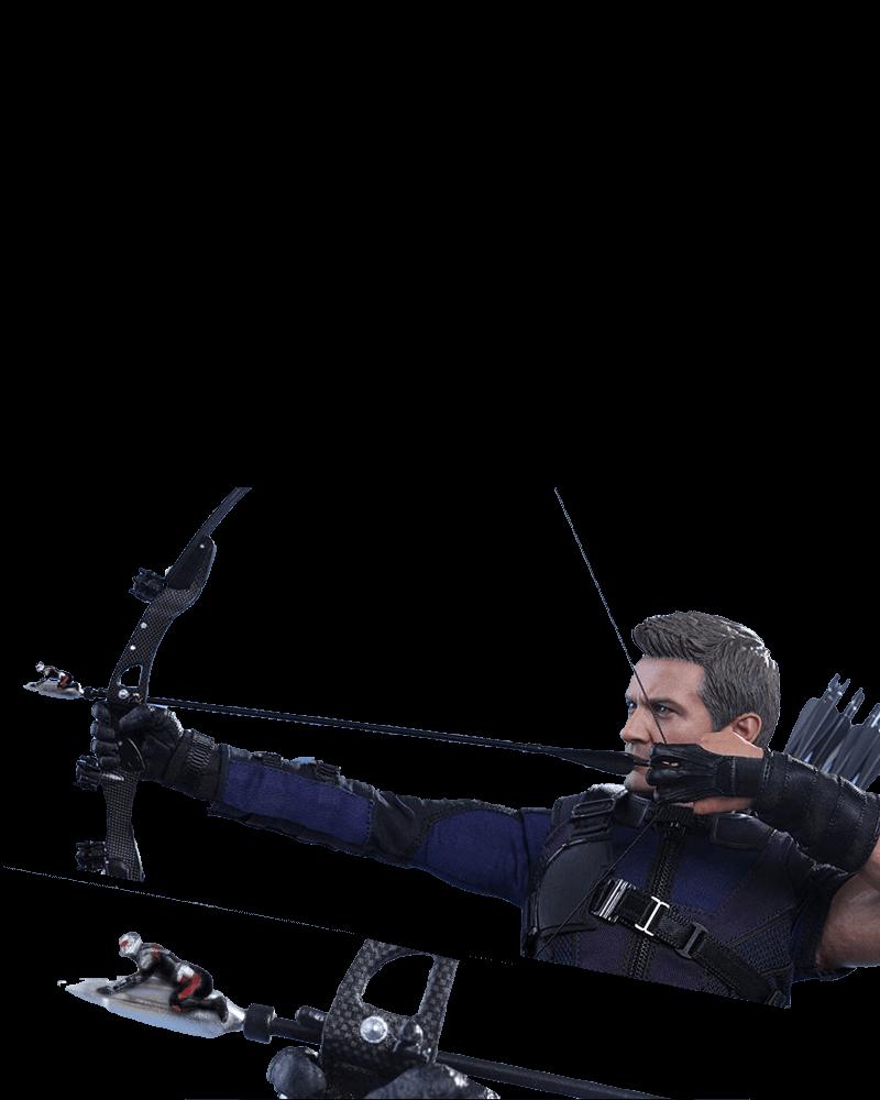 Boneco Hawkeye (Gavião Arqueiro): Capitão América: Guerra Civil Escala 1/6 - Hot Toys - CD