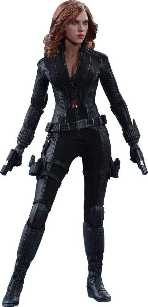 Action Figure Viúva Negra (Black Widow): Capitão América Guerra Civil (Civil War) Escala 1/6 (MMS365) - Hot Toys