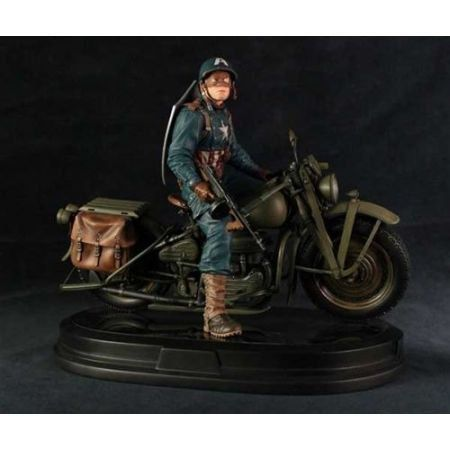 Captain America on Motorcycle - Gentle Giant