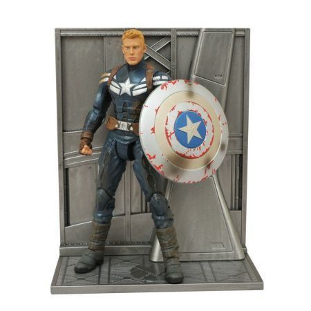 Captain America (Unmasked Version) - Marvel Select -  Diamond