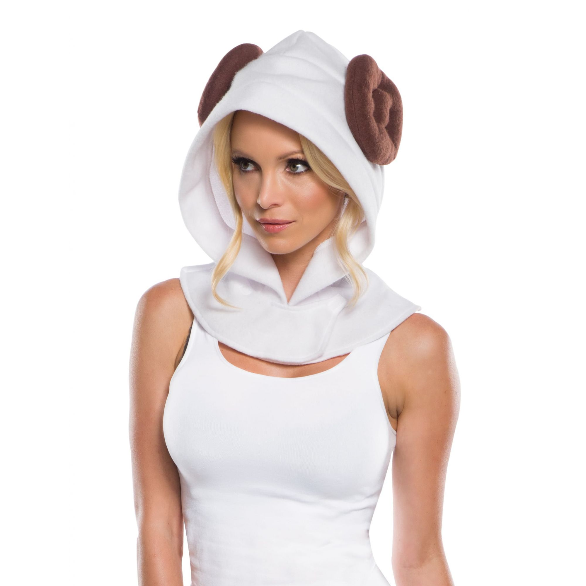 Capuz Princesa Leia: Star Wars (Acessório Fantasia) - Rubies Costume - CD