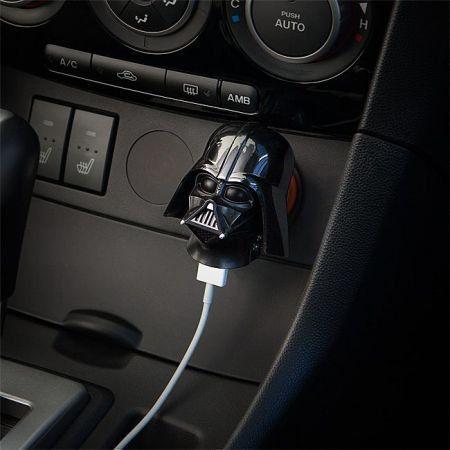 Carregador para Carro USB Star Wars Darth Vader Helmet - ThinkGeek