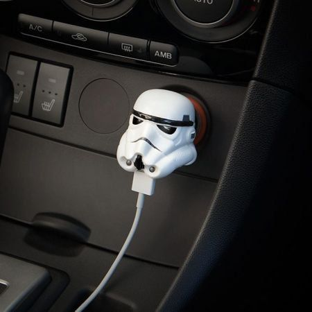 Carregador para Carro USB Star Wars Stormtrooper - ThinkGeek