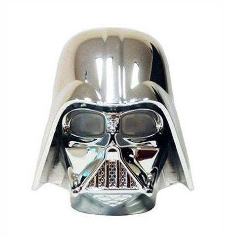 Carregador (Power Bank) Darth Vader: Star Wars USB (Prata)