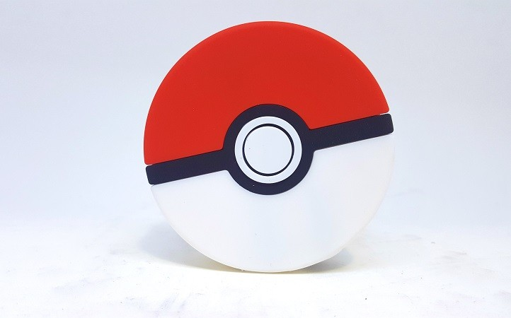Carregador Power Bank Pokemon: Pokebola 8800 mAh
