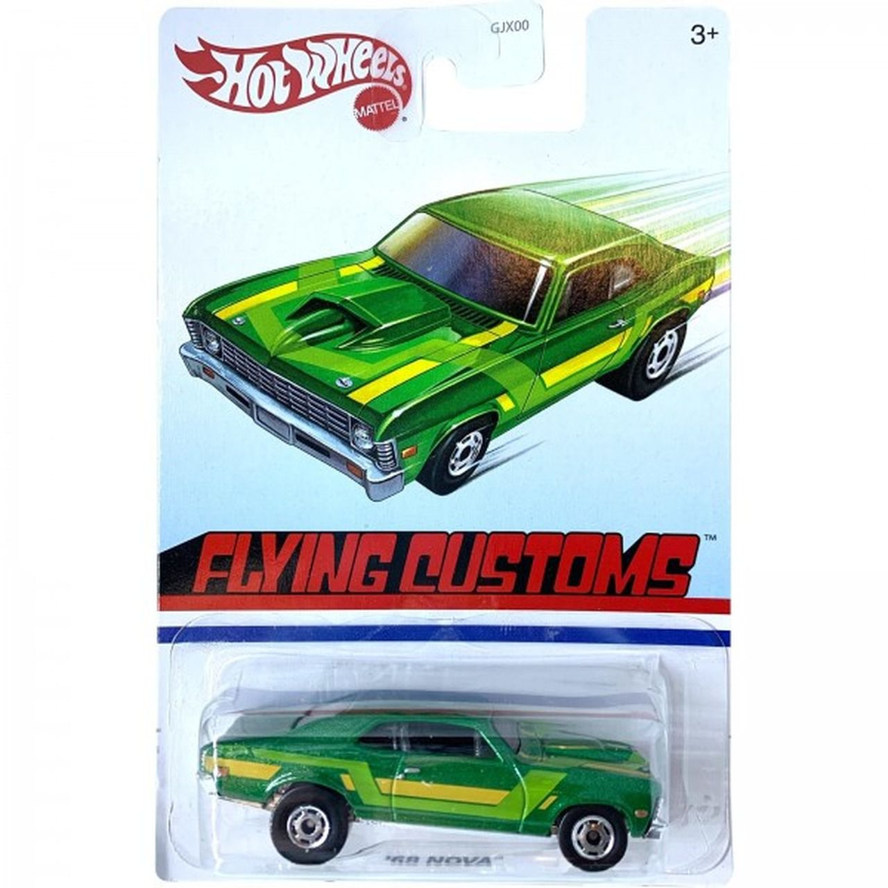 Carrinho '68 Nova (Flying Customs) GJX00 - Hot Wheels