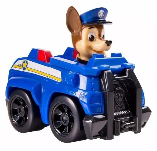 Carrinho Chase (Azul): Patrulha Canina