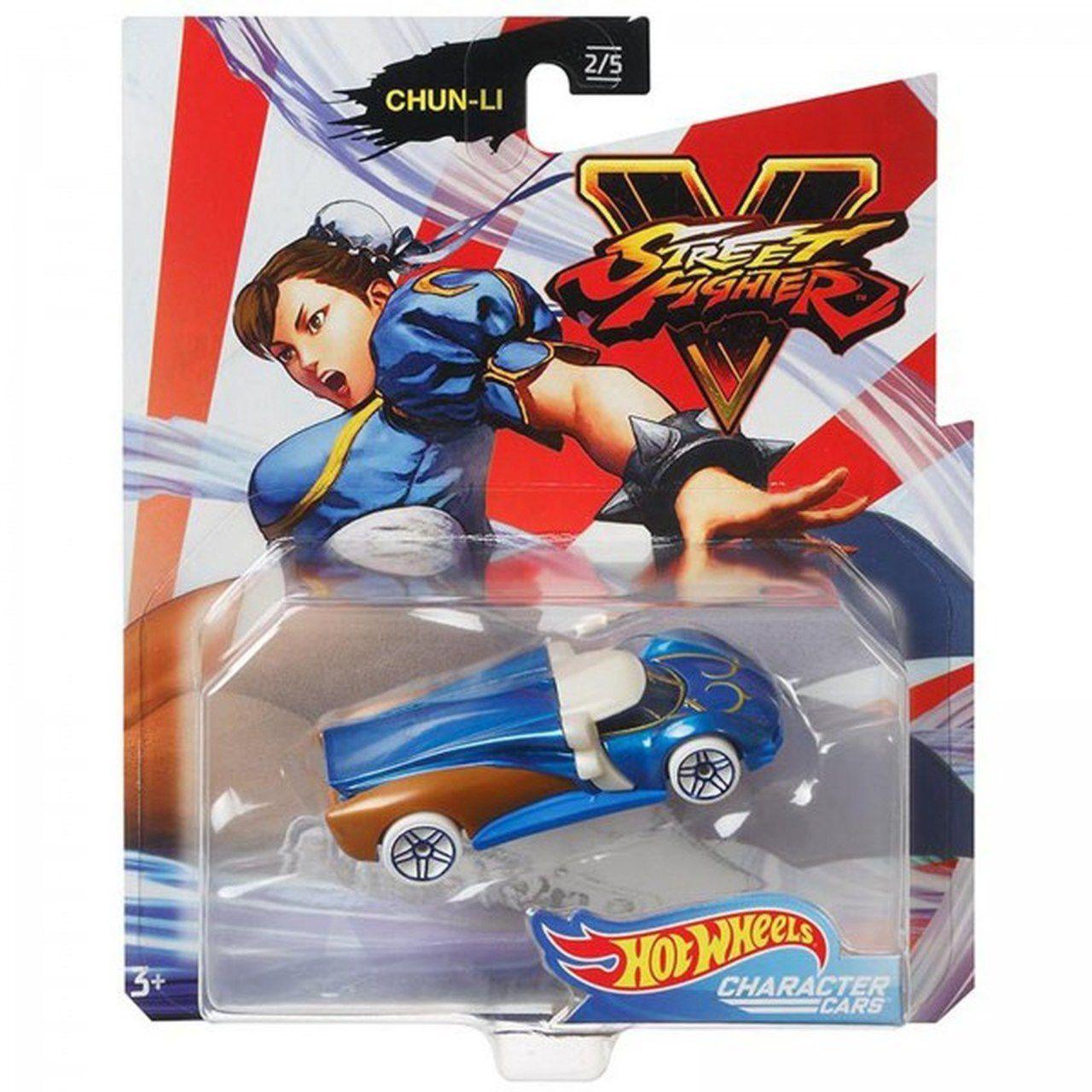 Carrinho Chun-Li: Street Fighter V - Hot Wheels
