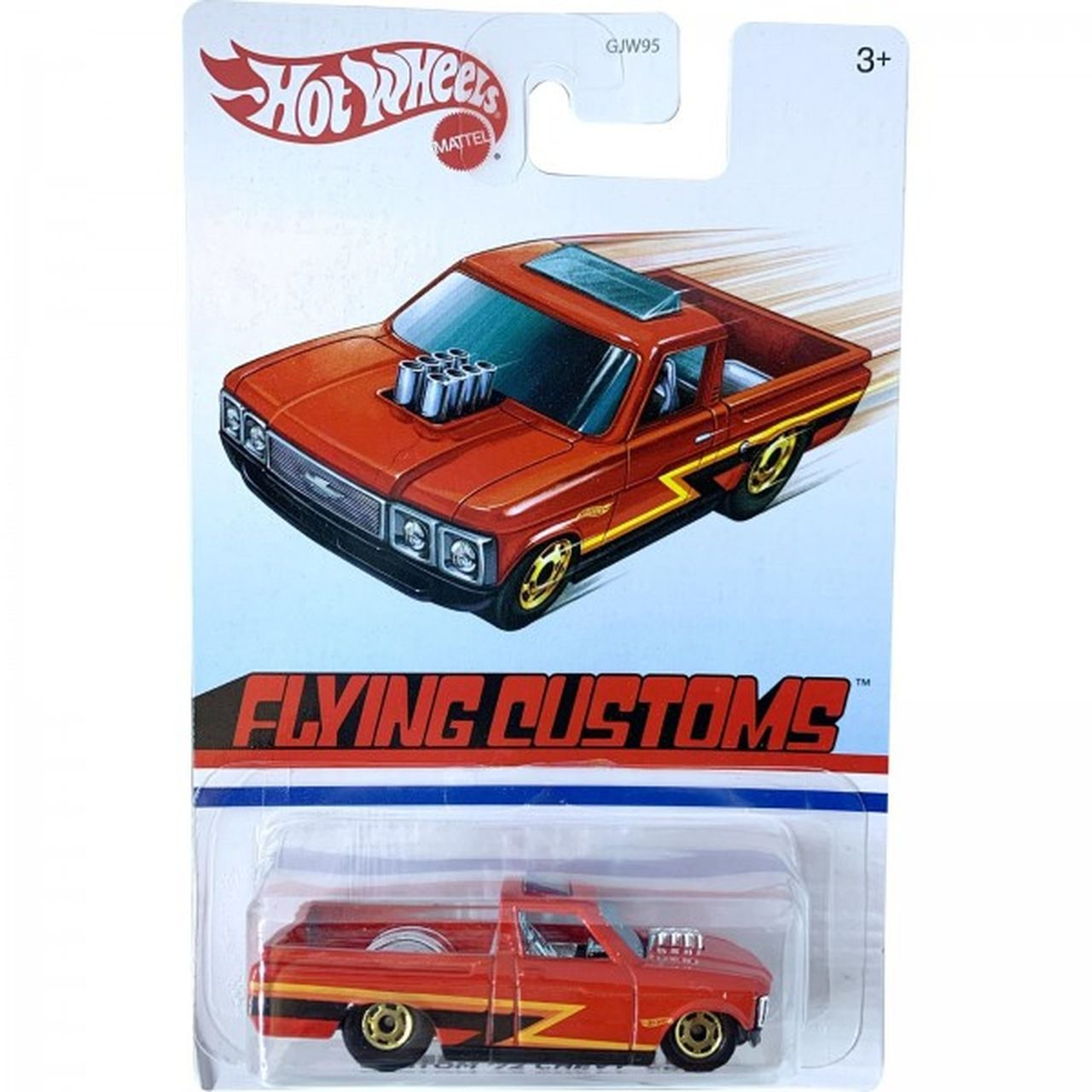 Carrinho Custom '72 Chevy Luv (Flying Customs) GJW95 - Hot Wheels
