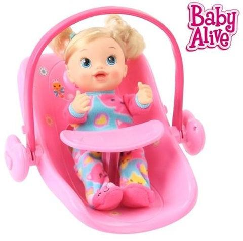 Carrinho de Bebê Boneca Baby Alive Doll Stroller Travel System - CD