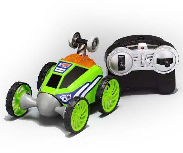 Carrinho De Controle Remoto: Turbo Spin (Verde) - DTC