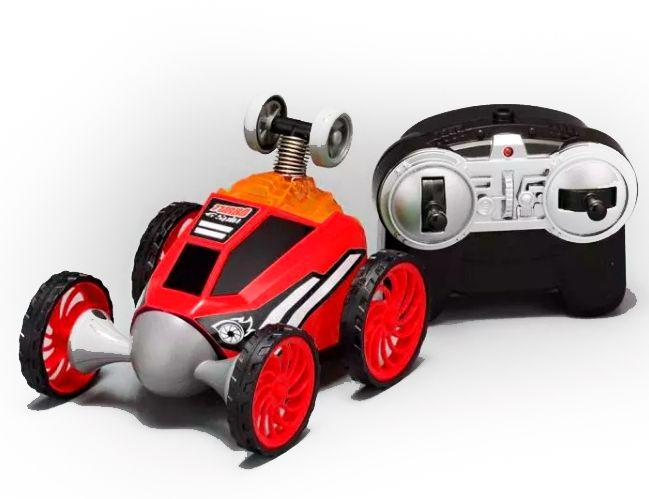 Carrinho De Controle Remoto: Turbo Spin (Vermelho) - DTC