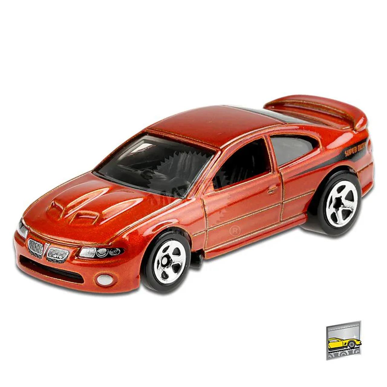 Carrinho Hot Wheels: '06 Pontiac GTO  Factory Fresh - Mattel