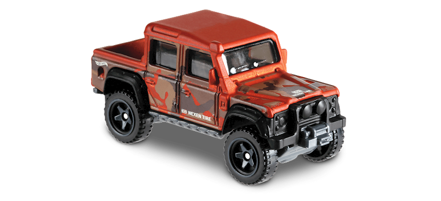 Carrinho Hot Wheels '15 Land Rover Defender Double Cab (KZIKR) - Mattel