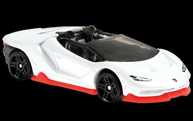 Carrinho Hot Wheels '16 Lamborghini Centenario Roadster (ARCEP) HW Roadster - Mattel