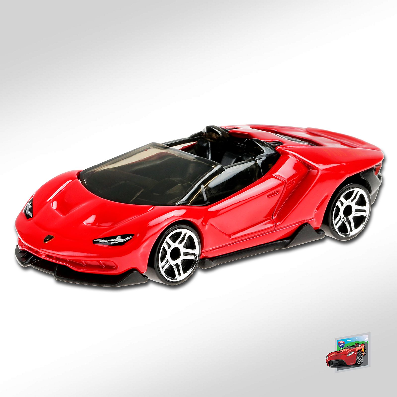 Carrinho Hot Wheels '16 Lamborghini Centenario Roadster (OLEZW) Hw RoadSters - Mattel