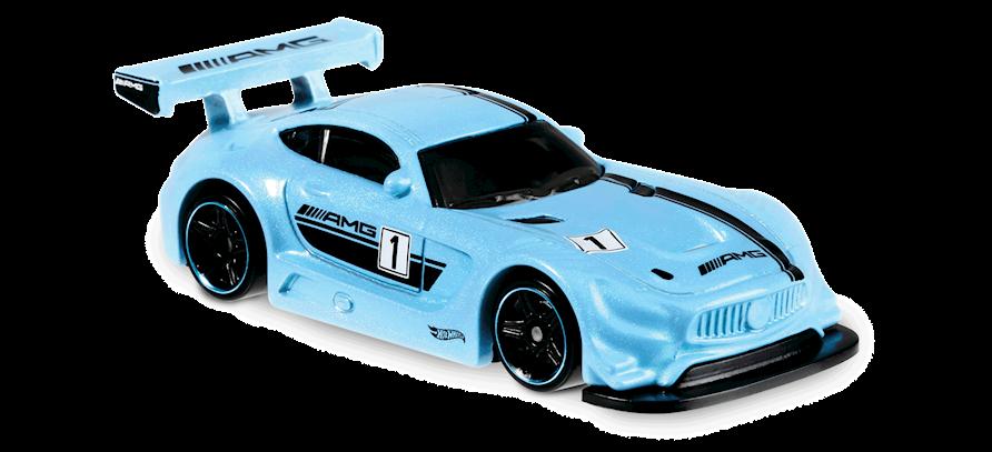 Carrinho Hot Wheels '16 Mercedes-AMG GT3 (Q71QP) - Mattel