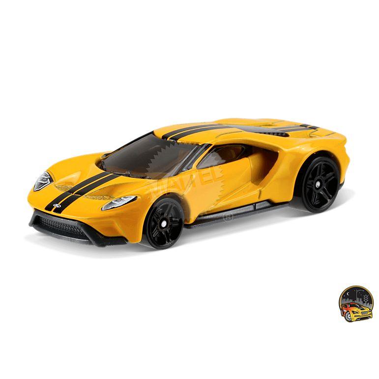 Carrinho Hot Wheels: '17 Ford GT Amarelo