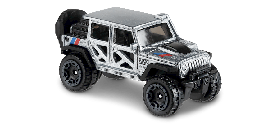 Carrinho Hot Wheels '17 Jeep® Wrangler (VKWOF) - Mattel