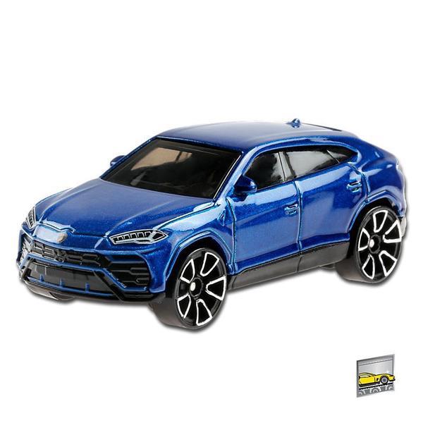Carrinho Hot Wheels: '17 Lamborghini Urus (Azul) Factory Fresh - Mattel