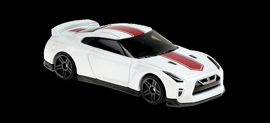 Carrinho Hot Wheels '17 Nissan GT-R (R35) 4577M (HW Speed Graphics)