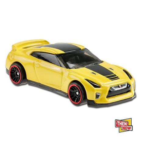 Carrinho Hot Wheels: '17 Nissan GT-R (R35) Then And Now - Mattel