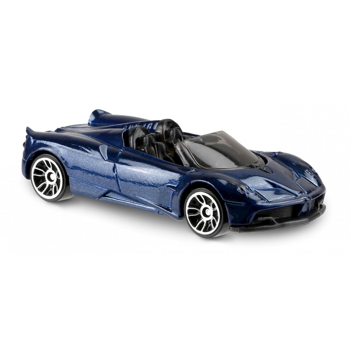 Carrinho Hot Wheels: '17 Pagani Huayra Roadster Azul