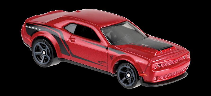 Carrinho Hot Wheels '18 Dodge Challenger SRT Demon (QSDB6) - Mattel