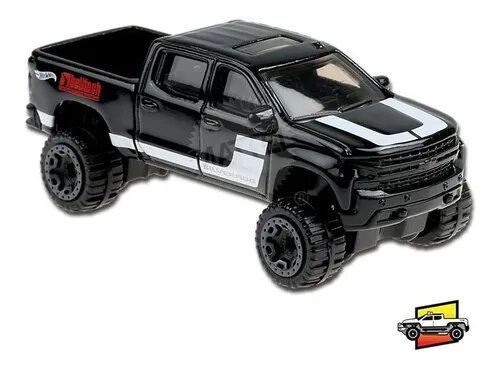Carrinho Hot Wheels '19 Chevy Silverado Trail Boss LT (8NPWV) Hw Hot Trucks  - Mattel