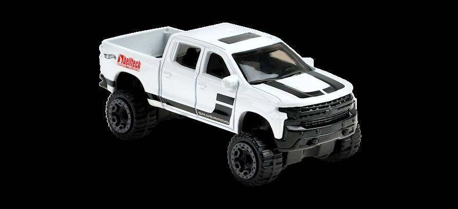 Carrinho Hot Wheels: 19 Chevy Silverado Trail Boss LT - ( Hw Hot Trucks ) - ZZQUU