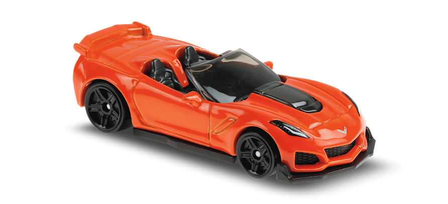 Carrinho Hot Wheels: 19 Corvette ZR1 Convertible - ( Factory Fresh ) - SLVFI