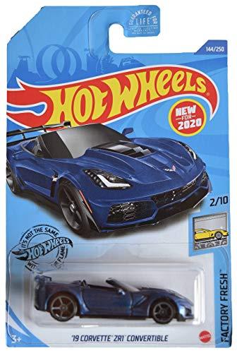 Carrinho Hot Wheels 19 Corvette ZR1 Convertible (WMB6C) Factory Fresh - Mattel