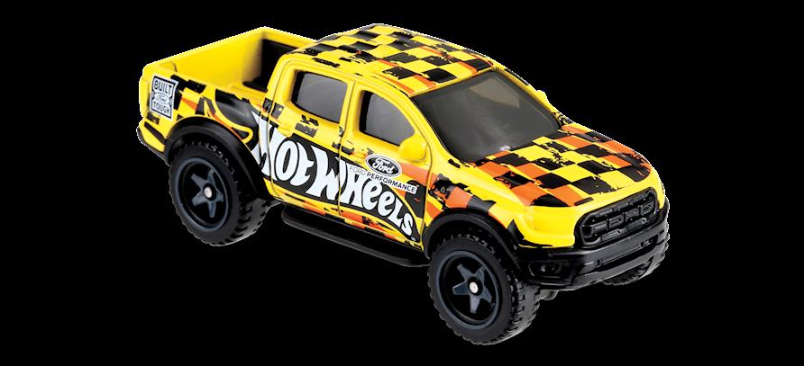 Carrinho Hot Wheels '19 Ford Ranger Raptor (1G57W) - Mattel